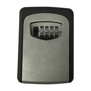 ウォールマウントKEY BOX 壁掛けキーボックス ダイヤル式 ロック 屋外 小物 伝言メモ 隠しキーボックス型 南京錠 鍵 ◇FAM-KS-003
