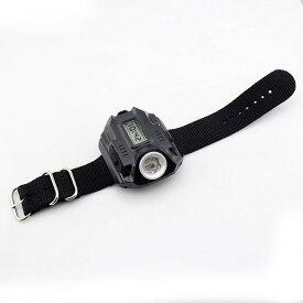 3cb1ae1ce0 腕時計型 LED懐中電灯 ウォッチ アウトドア LEDライト 強力ライト サバイバル 防災 避難 夜釣り