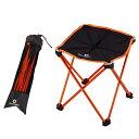 【Lサイズ】折りたたみ アウトドア スツール 軽量 334g 耐荷量 100kg コンパクト キャンプ 運動会 スポーツ観戦 椅子 …