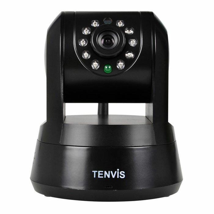 Tenvis IPROBOT3 グローバル版 高画質 ネットワーク 防犯 ベビーカメラ PCレス wifi 接続 P2P 赤外線 暗視 スマホ タブレット 対応 ◇FAM-IPROBOT3-GL