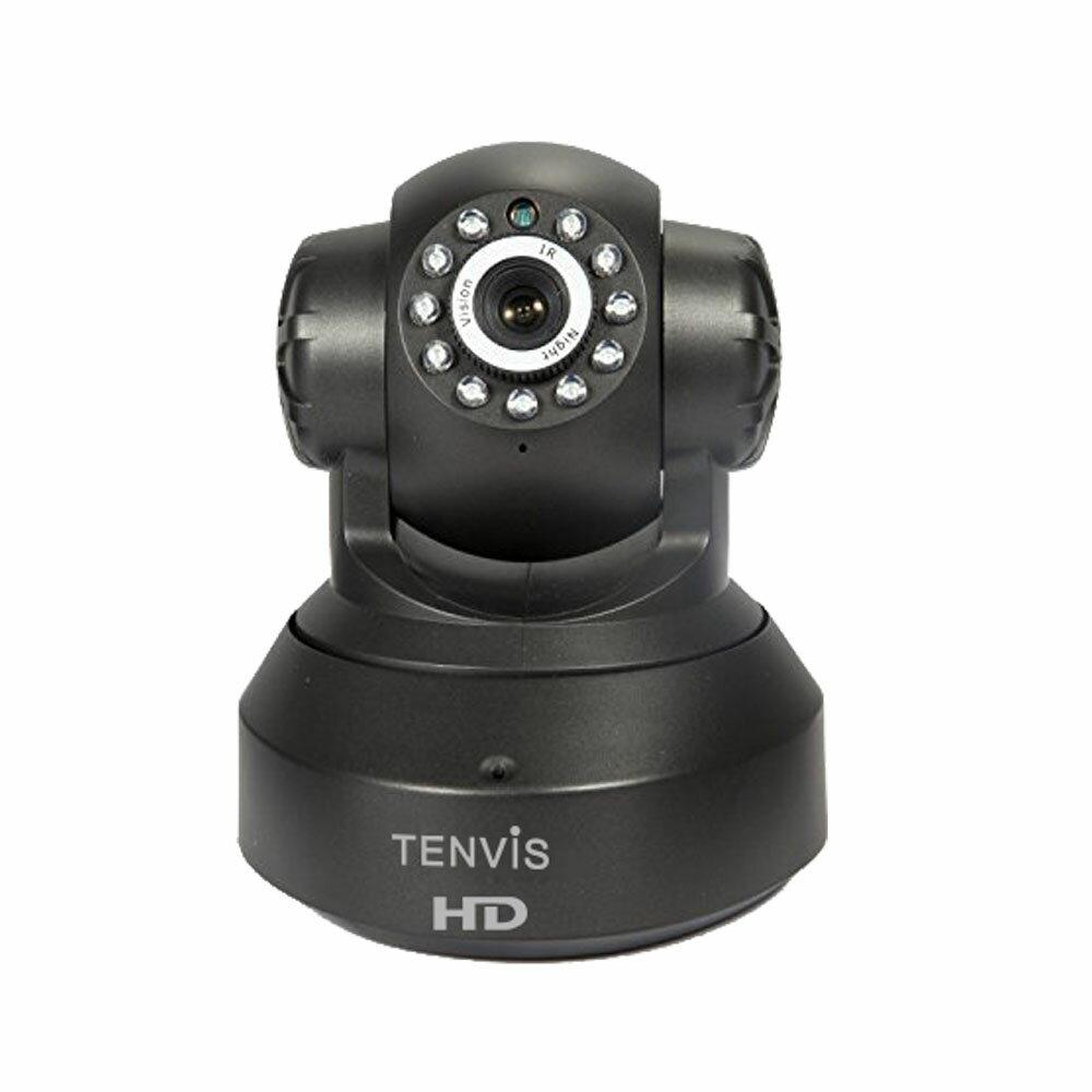 Tenvis T8801 グローバル版 高画質 ネットワーク 防犯 ベビーカメラ PCレス wifi 接続 P2P 赤外線 暗視 スマホ タブレット 対応 ◇FAM-T8801
