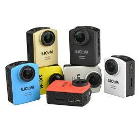 SJCAM M20 Wifi アクションカメラ 正規ライセンス 技適 搭載 ジャイロ 搭載 ウェアラブル カメラ バッテリー 1個 追加 ◇FAM-M20