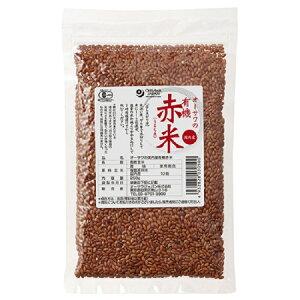 オーサワの有機赤米(国内産)250g(メール便発送)