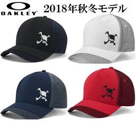 オークリー ゴルフ メンズ スカル キャップ【OAKLEY】SKULL HYBRID MESH CAPカラー:BLACKOUT(02E)カラー:WHITE(100)カラー:PEACOAT(67Z)カラー:JESTER RED(41G)912058JPラッキーシール対応