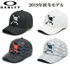オークリー ゴルフ メンズ スカル キャップ【OAKLEY】SKULL QUILTING CAP 13.0カラー:BLACKOUT(02E)カラー:WHITE(100)カラー:BLACK PRINT(00G)カラー:WHITE PRINT(186)912249JP
