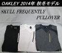 【OAKLEY】オークリー ゴルフ ウェア アウターSKULL FREQUENTLY PULLOVERカラー:JET BLACK(01K)カラー:WHITE(1...