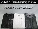 【OAKLEY】オークリー ゴルフ ウェア アウターFLEECE PUFF HOODYカラー:JET BLACK(01K)カラー:WHITE(100)カラー:H...