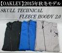オークリー ゴルフ ウェア スカル フリース【OAKLEY】SKULL TECHNICAL FLEECE HOODY 2.0カラー:BLACK HEATHER(...