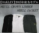 オークリー ゴルフ ウェア スカル クラウン ジャケット【OAKLEY】SKULL CROWN LIMBER SHELL JACKETカラー:JET BLACK...
