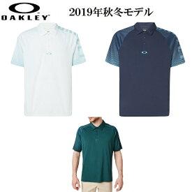オークリー ゴルフ ウェア メンズ 半袖 ポロ シャツ【OAKLEY】GRAPHIC LOGO SLEEVES POLOカラー:WHITE(100)カラー:FOGGY BLUE(6FB)カラー:PLANET(74D)434433US/EUモデル