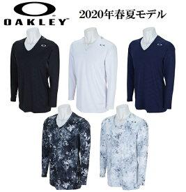 オークリー ゴルフ ウェア メンズ アンダーシャツ インナー【OAKLEY】TECHNICAL UNDER V NECK 10.0カラー:BLACKOUT(02E)カラー:WHITE(100)カラー:PEACOAT(67Z)カラー:BLACK PRINT(00G)カラー:WHITE PRINT(186)FOA400790