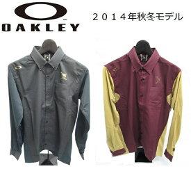 【OAKLEY】オークリー ゴルフ ウェア スカルSKULL CROWN HYBRID L/S SHIRTカラー:JET BLACK(01K)カラー:WHITE(100)カラー:GRAPHITE(00N)カラー:AUBERGINE(82R)401689JP