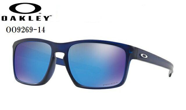 オークリー サングラス【OAKLEY】SLIVERスリバーフレームカラー:Matte Translucent Blueレンズカラー:Prizm Sapphireフィット:Asia Fit付属品:マイクロバックOO9269-14ラッキーシール対応