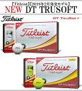 タイトリスト ゴルフ ボール【Titleist】DT TRU SOFT 2018タイトリスト DT トゥルーソフト1ダース(12球)カラー:ホ…