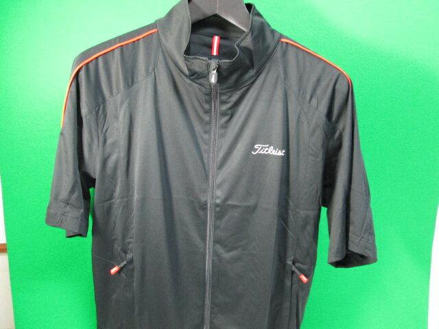 【Titleist】タイトリスト ウェア アウターメンズ ジップジャケット TSMO1343カラー:ブラックカラー:オフホワイト