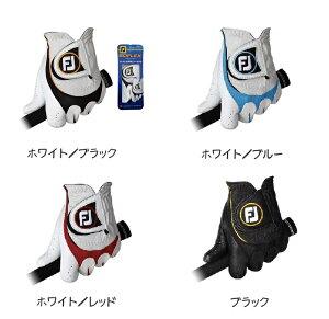 【FootJoy】SCIFLEX GLOVE フットジョイ サイフレックス グローブ【2013年モデル】左手用ホワイト/ブラックホワイト/レッドホワイト/ブルーブラック素材:最高級天然羊革(平部分)+合成皮革(