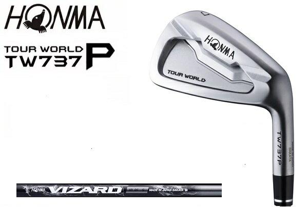 ホンマ ゴルフ クラブ メンズ アイアン【HONMA】TOUR WORLD TW737 P IRONホンマ ツアーワールド アイアンセット内容:#5-#10(6本セット)SHAFT:VIZARD IB送料無料ラッキーシール対応