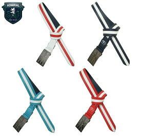 アドミラル ゴルフ メンズ ベルト【Admiral】UJ COLORED BELT ADMB4SV3カラー:ホワイト(00)カラー:ネイビー(30)カラー:ブルー(34)カラー:レッド(40)