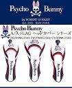 サイコバニー ゴルフ ヘッドカバー【Psycho Bunny】A/A FLAG ヘッドカバー シリーズA/A FLAG H/C DR 1W用 PBMG7SH1A...
