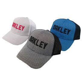 オークリー ゴルフ キャップ【OAKLEY】KEY POINT CAPカラー:BLACKOUT(02E)カラー:WHITE(100)カラー:OZONE(62T)911824JP