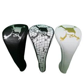 オークリー ゴルフ スカル フェアウェイ ヘッドカバー【OAKLEY】SKULL FAIRWAY COVER 11.0カラー:BLACKOUT(02E)カラー:WHITE(100)カラー:WHITE/GOLD(160)番手:3,5,7,X200cc対応921099JP