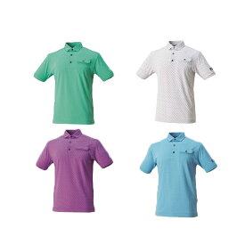 フットジョイ ゴルフ メンズ ウェア 半袖【FootJoy】タイプリントシャツカラー:スペアミント(22591)カラー:ホワイト(22592)カラー:バイオレット(22593)カラー:スカイブルー(22594)FJ-S17-S61