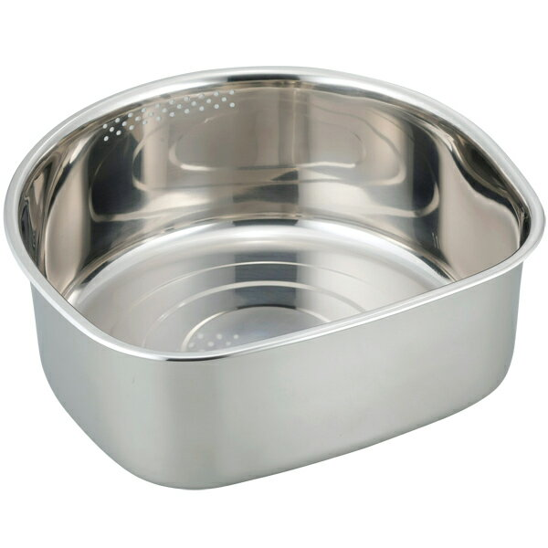 和平フレイズ SUIグート D型洗い桶ゴム足付 大 SUI-6049