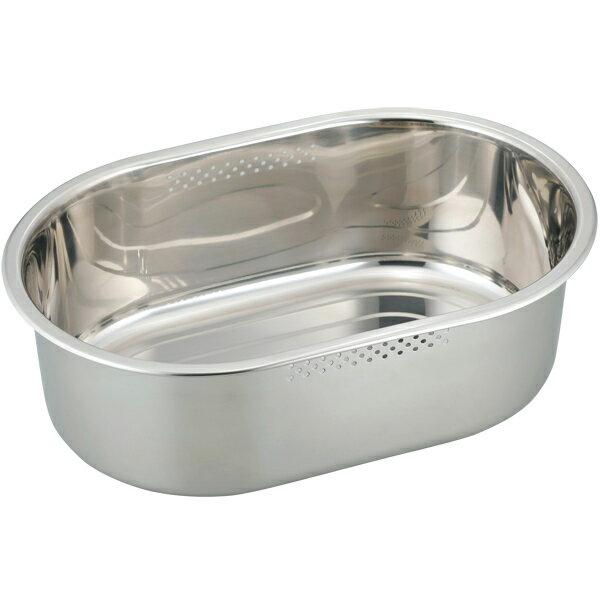 和平フレイズ SUIグート 小判型洗い桶ゴム足付 大 SUI-6051