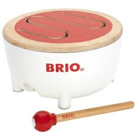 BRIO ブリオ 楽器 BRIOドラム 30181