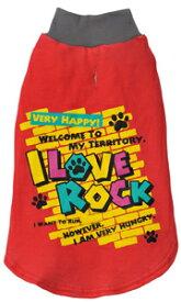 【在庫処分特価】ペティオ LittleAngel ラブロック トレーナー【レッド】 (XS/SS/MDS/MDM)  (メール便で何点でも送料180円)ドッグウエア/トレーナー 犬の服【在庫限定】