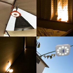 LEDソーラーランタンエクセルーチェ白色暖色