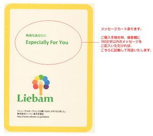☆★ギフトラッピング★☆リボンシール付きギフトバックに当社オリジナルのメッセージカードを添えてお届けします♪