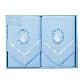 WEDGWOOD ウェッジウッドジャスパー 綿毛布2枚セットギフト 出産内祝い 新築内祝い 快気祝い 結婚内祝い 内祝い お返し