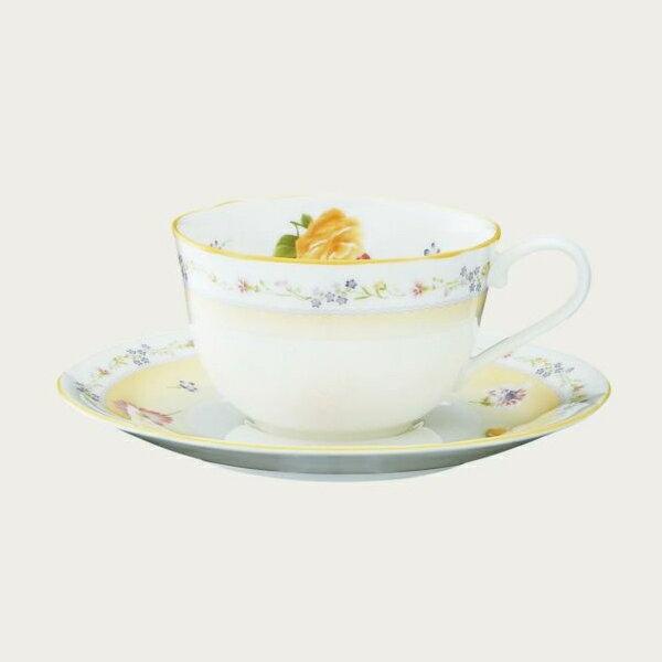 【ノリタケ】≪ジュヌ・フレール≫ティー・コーヒー碗皿碗皿 内祝い お返し 出産内祝い 結婚お祝い 結婚内祝い 母の日 父の日 誕生日プレゼント 記念品