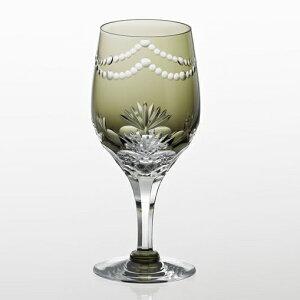 カガミクリスタル江戸切子 ワイングラス1客<万両>ギフト 出産内祝い 新築内祝い 入学内祝い 結婚内祝い 快気祝 御礼 プレゼント 記念品 誕生日 母の日