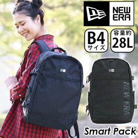 NEW ERA ニューエラ リュック 正規品 リュックサック デイパック バックパック メンズ レディース ブラック 25L スクエア型 スクエアリュック 大容量 スマートパック Smart Pack