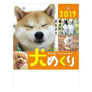 犬めくり 2019年 カレンダー リフィル 日めくり CK-D19-02