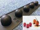 キャンドルモールド ボール 5P pavofrex【キャンドル モールド 型 シリコン】