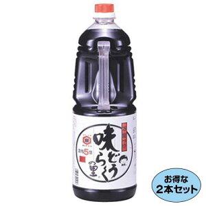 【お得な2本セット】万能つゆ 味どうらくの里 1.8L ×2本