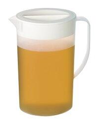冷水筒ピッチャー冷水ポット耐熱「卓上ピッチャー2200(2個セット)容量2.2L」目盛付卓上用スリム麦茶お茶パック飲料水洗いやすい日本製