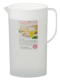 卓上ピッチャー(耐熱)22002個セット容量2.2L冷水筒ピッチャー夏物麦茶水水出し