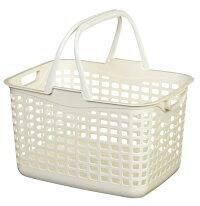 ウイングランドリーバスケットM【2個セット】浅型洗濯かご脱衣カゴ洗濯用品整理かごランドリーバスケット【5色から選べます】