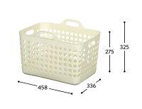 ポピンズランドリーバスケットM(メッシュタイプ)バスケットフタ付き洗濯かご洗濯用品脱衣かご片付け収納新生活おしゃれかわいいやわらかい衣類優しいメッシュ【4色から選べます】