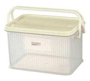 マルチボックス 2個セット 収納ボックス 収納ケース コンテナボックス ボックス フタ付き ハンドル付き プラスチックケース 洗車グッズ アウトドア 道具入れ ピクニック 工具箱 木炭ケース