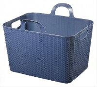 アミーゴランドリーバスケット3段4点セット(網目ソフトバスケット3個付)洗濯かご
