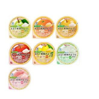 It is totally for each one jelly (UDF division 3 can smash it with a tongue) variety seven kinds pack (there is no peach, melon, pear, mango, apple, mandarin orange) 60 g X such as the fruit easy care easily HOUSE FOODS