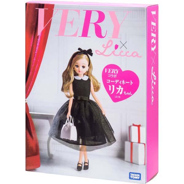 【タカラトミー】【女の子 おもちゃ】【着せ替え人形】リカちゃん LD-16 VERYコラボ コーディネートリカちゃん