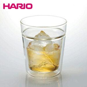 ツインロックグラス 260【 ガラス グラス コップ 耐熱ガラス 二重構造 ハリオ hario 】LF557B07b000