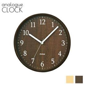 【 あす楽 送料無料 】ウッド調掛け時計【 掛時計 時計 壁掛け時計 モダン シンプル 音がしない ウォールクロック 】LF656B02b000