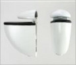 DOLLE 棚クリップ JAM 2ヶ入 〈シロ〉 6-20mm
